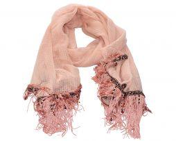 Deze #roze #sjaal volgens de laatste #trends koop je bij www.sevenbien.nl