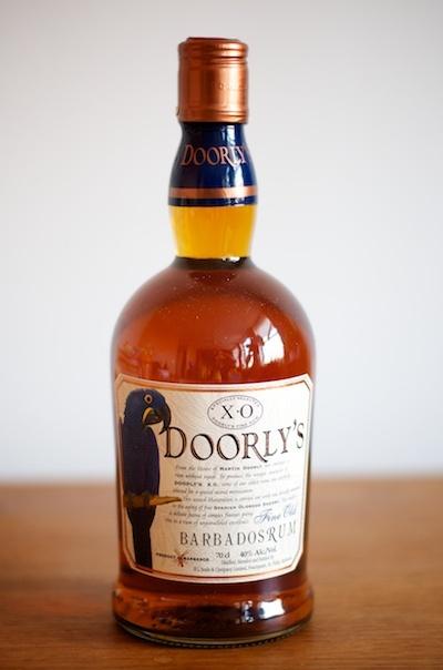 Doorly's XO Barbados Rum  Per produrre il carattere del Doorly's XO vengono assemblati rum dai 6 ai 12 anni che vengono poi invecchiati una seconda volta in botti di Sherry Oloroso, per produrre un rum complesso, cremoso e vellutato.  Grado alcolico: 40%