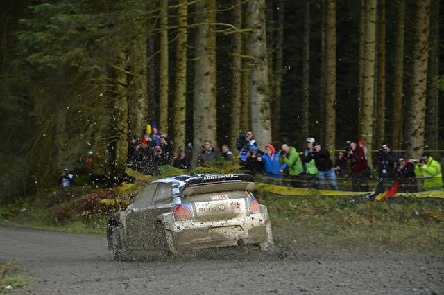 Two #Polo R #WRC lead the way in the Shakedown – #Volkswagen enjoys promising start to the Rally Great Britain