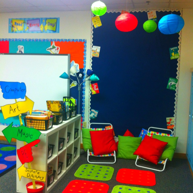 Classroom Library Design Ideas ~ Best images about library spaces for kids on pinterest