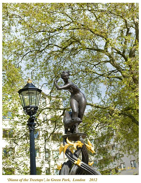 Diana in the treetops - Green Park