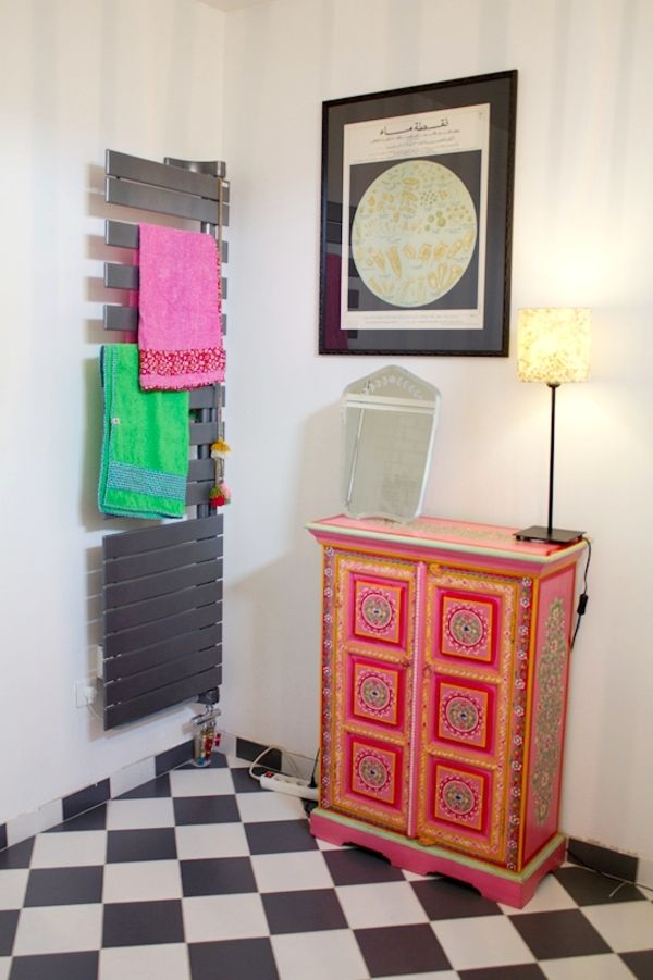 Salle de bains Laetitia  Déco : Salle de bain  Pinterest