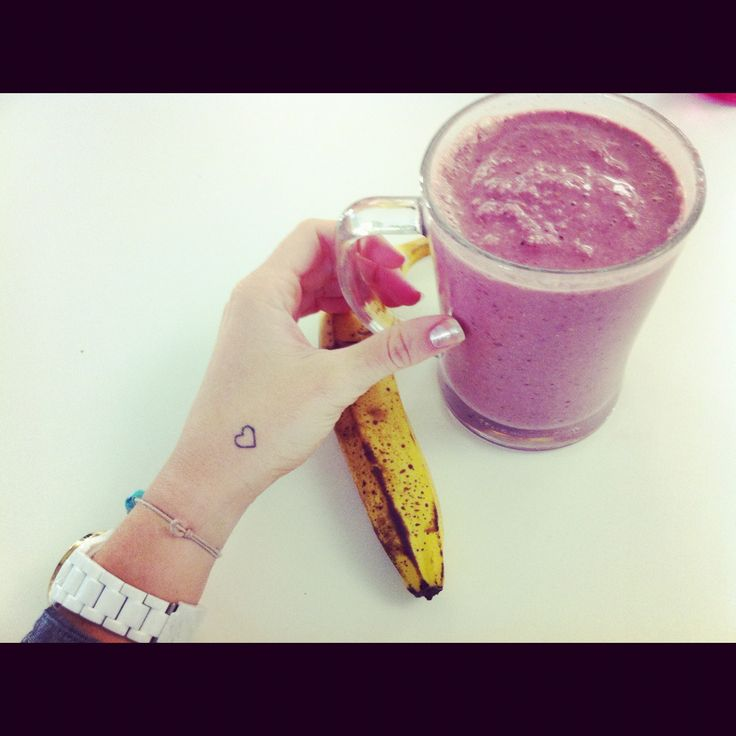 BANANA WITH BERRIE SMOOTHIE