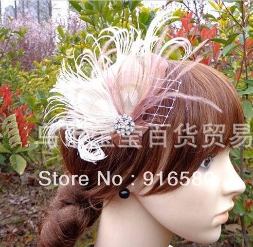 Ucuz  Doğrudan Çin Kaynaklarında Satın Alın: ücretsiz kargo!!! Moda güzel tüy saç düğün aksesuarları, gelin saç aksesuarları, gelinlik büyüleyici şey, saç klipleri, saç büyüleyici şey.Fabrika satış, toptan fiyat, en kaliteli!!!