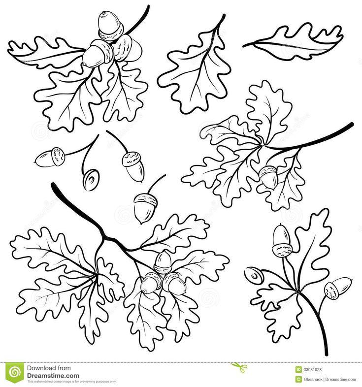 oak leaf tattoo - Google Search