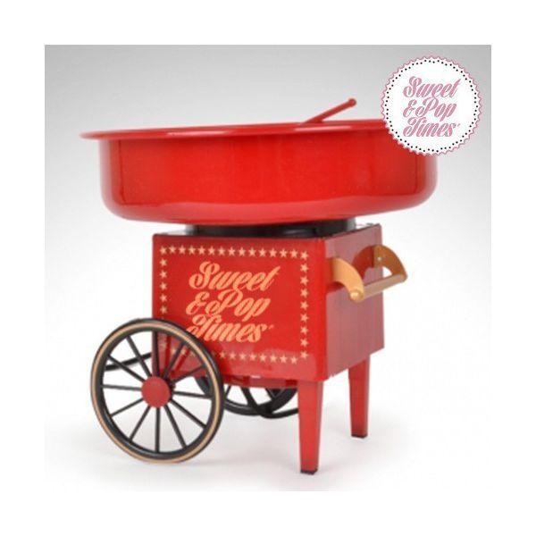 ... Regalos originales Maquina de Algodón de Azúcar Vintage Sweet & Pop