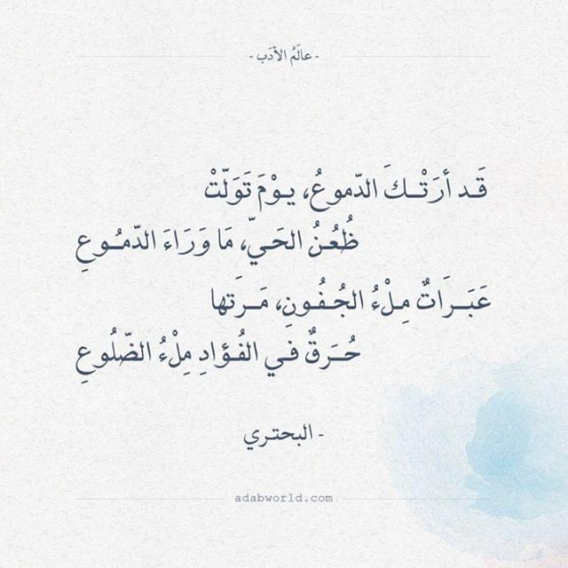 اقتباسات وأبيات شعر عن حكم عالم الأدب Arabic Poetry Arabic Quotes Words