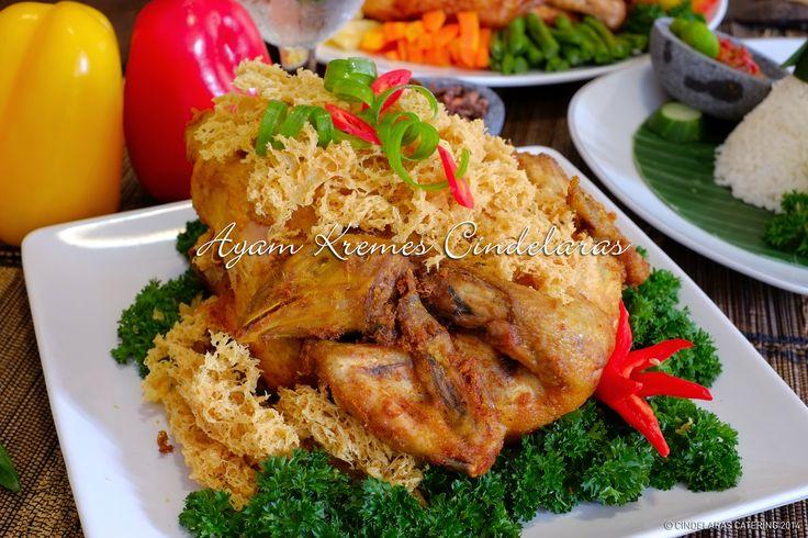 Ayam Kremes Cindelaras more info just login to  www.cindelarascatering.com  Jakarta Bogor Tangerang Bekasi Bogor Area only