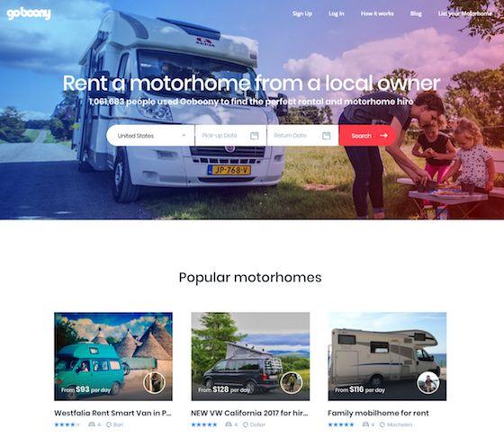 映画のようにキャンピングカーで旅してみたい、という人もいるだろう。 ただし、キャンピングカーを買うのはちょっとね、という感じもわかる。 そこで登場したのがgoboonyだ。 いわゆるAirBnB的なサービスなので、設備がついた状態でレンタルできて便利だ。 海外旅行のついでに、という使い方もできそうですな。  goboony https://www.goboony.com/ キャンピングカーのAirBnB。   管理人の独り言 『うし』 いろいろ進んだ。 今日の運動記録 あとで。