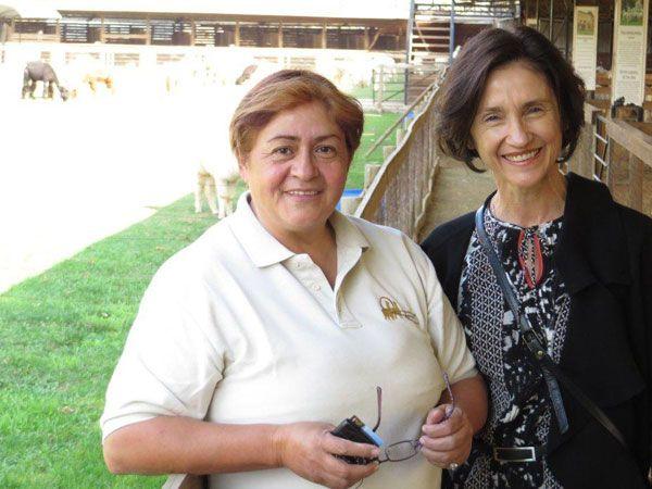 Maria Herlinda de la Garza with  Elizabeth Ashford