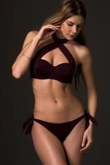 Dark Bikini Top