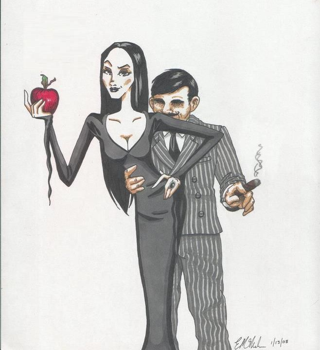 March 30: John Astin - Gomez Addams from ' The Addams Family' (1964 - 1966). Description from pinterest.com. I searched for this on bing.com/images
