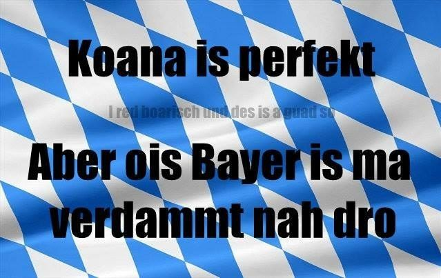 """Koana is perfekt – aber ois Bayer is ma verdammt nah dro!"" Die Facebookseite <a href=""http://go.redirectingat.com?id=74679X1524629&sref=https%3A%2F%2Fwww.buzzfeed.com%2Fmaximilianzender%2Fdahoam&url=https%3A%2F%2Fwww.facebook.com%2FI.red.boarisch&xcust=4224829%7CBFLITE&xs=1"" target=""_blank"">""I red boarisch und des is a guad so""</a> ist einfach nur großartig. Danke!"