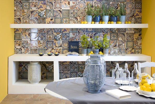 Испанская плитка Corti di canepa от Del Conca, настенная для ванной и кухни - купить в Керомаг.