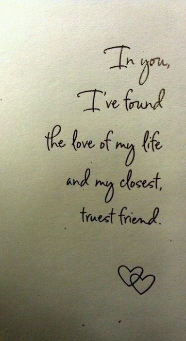 I love my fiance :)