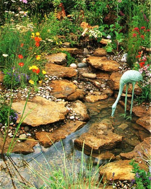 Landscaping Pond Banks : Ponds backyard a pond garden ideas dry creek