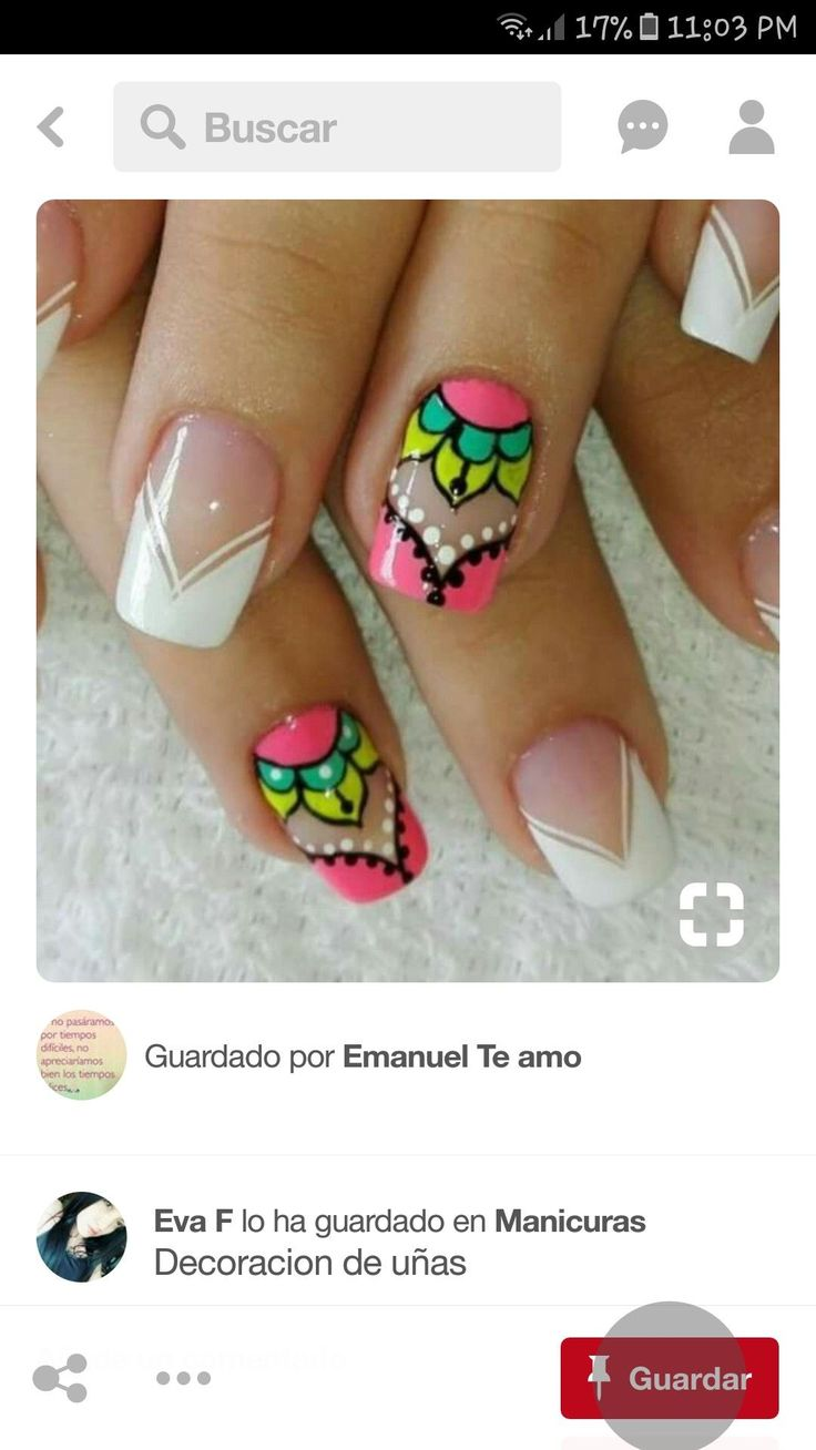 #uñasdecoradas
