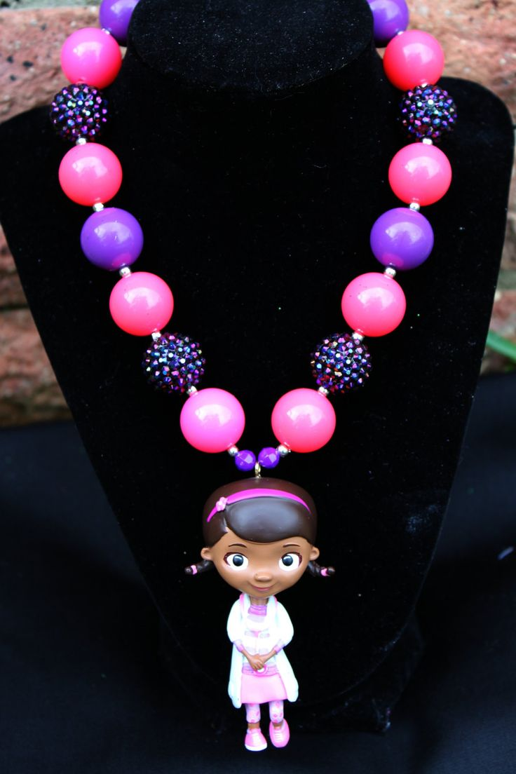 Disney Doc McStuffin Kids Chunky Bead by DazzlingCreations2, $25.00
