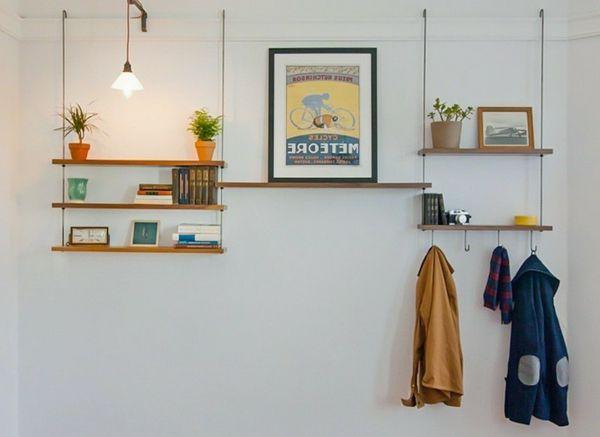 die besten 25 kleiderstange wand ideen auf pinterest kleiderstange kleiderst nder f r die. Black Bedroom Furniture Sets. Home Design Ideas