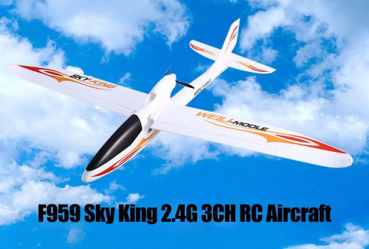 ==> [Free Shipping] Buy Best Free Shipping Hot Sell the new aircraft model toy f959 Sky King 2.4G 3CH EPO/RTF RC Glider RC Jet Plane VS F939 Online with LOWEST Price | 32439596382