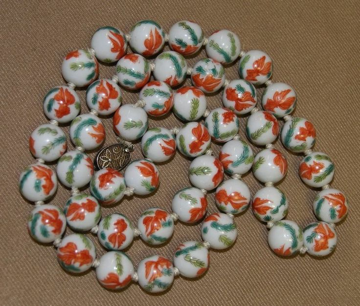 17 best images about jewelry asian oriental chinese for Koi fish beads