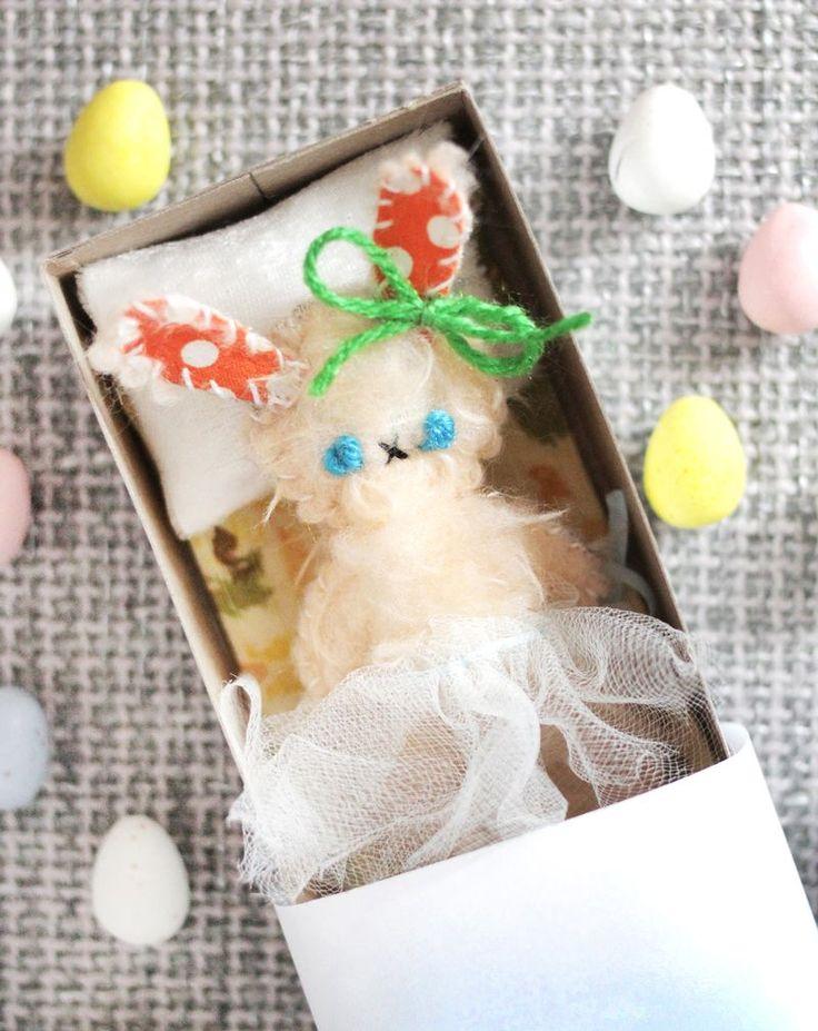 Make Your Own Matchbox Doll | A Beautiful Mess | Bloglovin'