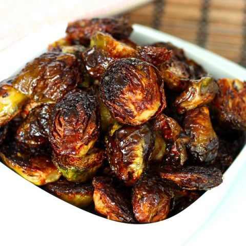 Crispy Asian Brussels Sprouts   – Sides