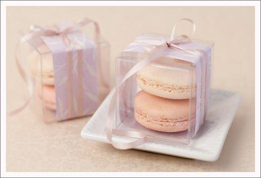 100 Bomboniere favor clear plastic PVC gift promotion box wedding gift idea…
