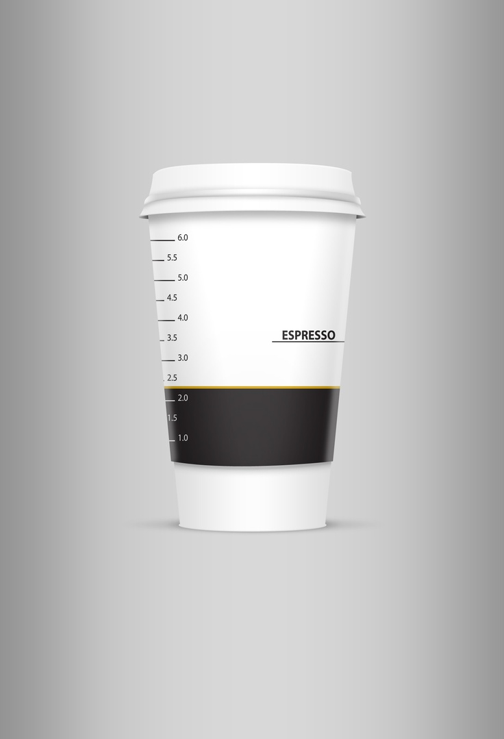espresso take away cup