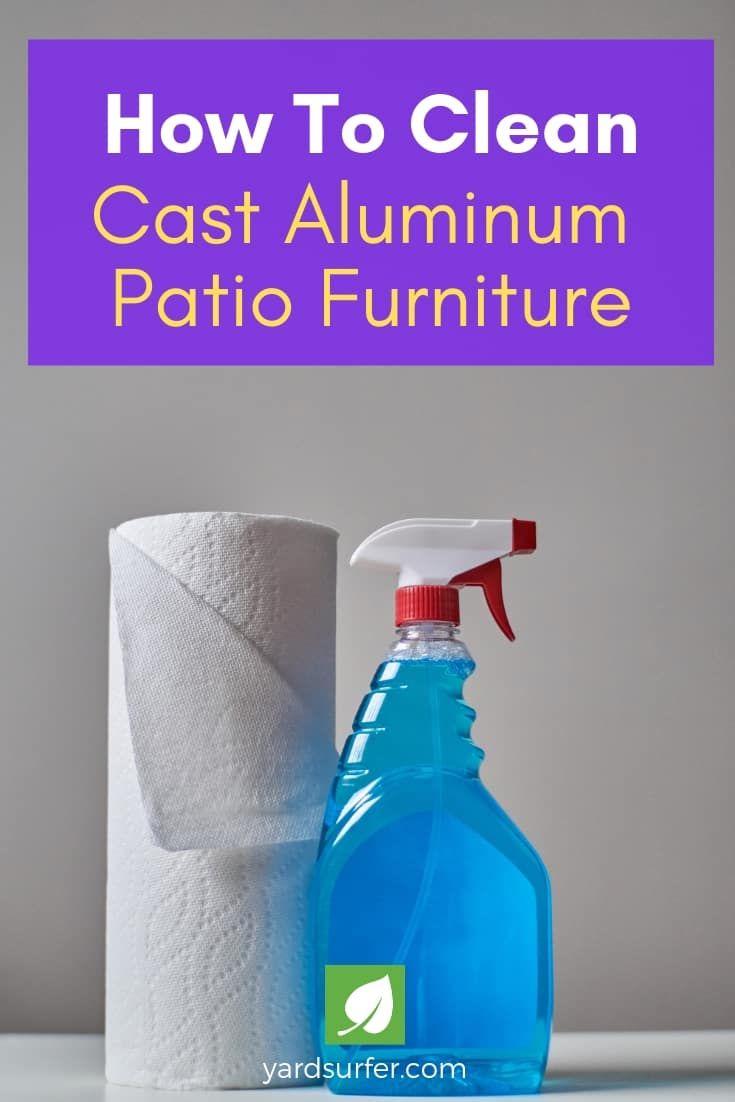 How To Clean Your Cast Aluminum Patio Furniture Cast Aluminum