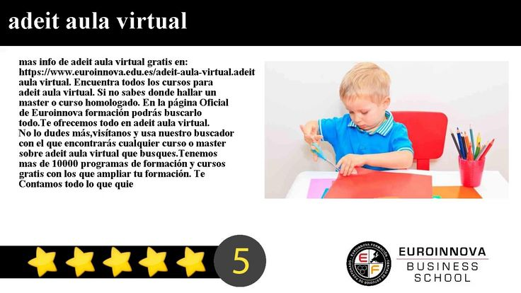 adeit aula virtual - mas info de adeit aula virtual gratis en: https://www.euroinnova.edu.es/adeit-aula-virtual.    adeit aula virtual. Encuentra todos los cursos para adeit aula virtual. Si no sabes donde hallar un master o curso homologado. En la página Oficial de Euroinnova formación podrás buscarlo todo.    Te ofrecemos todo en adeit aula virtual. No lo dudes másvisítanos y usa nuestro buscador con el que encontrarás cualquier curso o master sobre adeit aula virtual que busques…