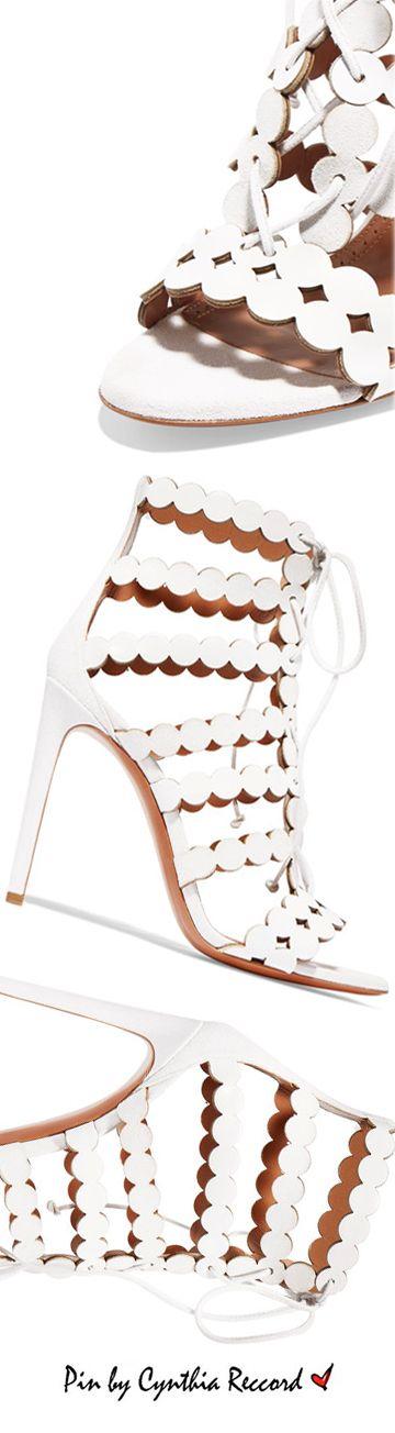 Alaia | SS 2017 Collection | cynthia reccord shoes