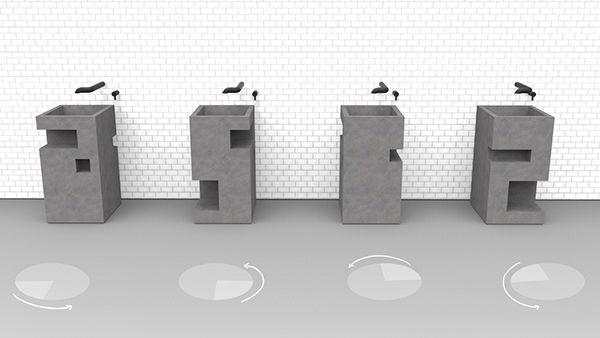 Same sink 4 ways
