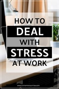 Coping techniques to help you deal with stress at work. Self care for the office. Get advice on both short term stress reduction and long term lifestyle changes that will help you beat work stress.
