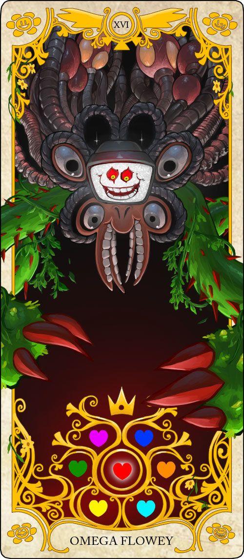 Undertale Tarot Cards: Omega Flowey