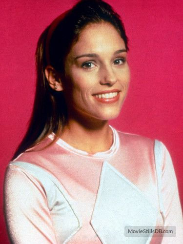 Mighty Morphin' Power Rangers promo shot of Amy Jo Johnson