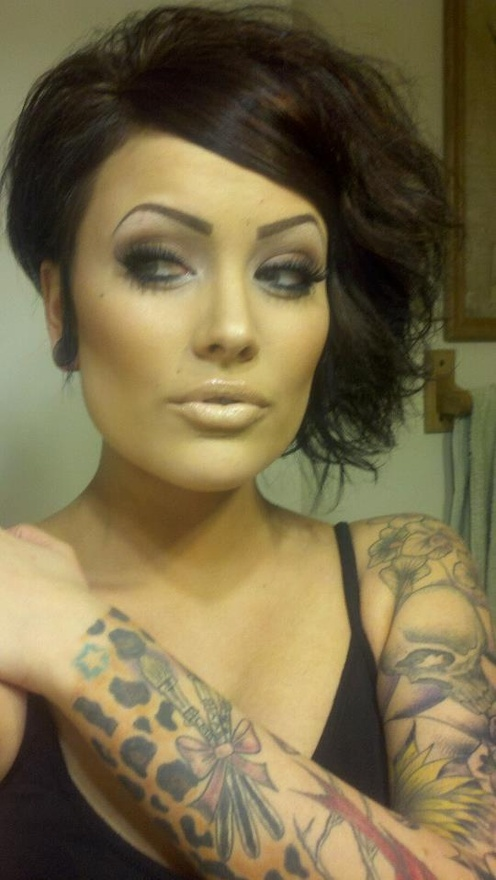 Pretty girl tattoos it-costs-a-lot-of-money-to-look-this-cheap-dolly-p