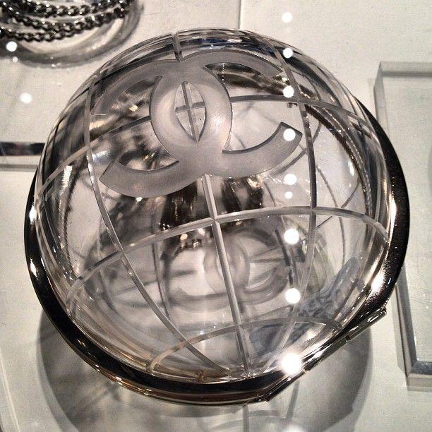 Chanel Globe bag #PFW