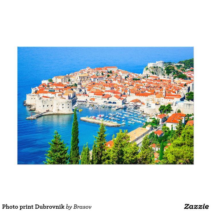 Photo print Dubrovnik