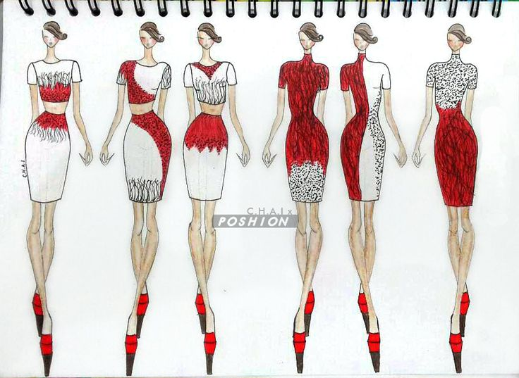 Poshion Sketch Book | #fashionillustration #sketchbook #fashionsketch #fashiondesign #draw #croquis #learntodraw #fashionposes #fashionfigure #fashion