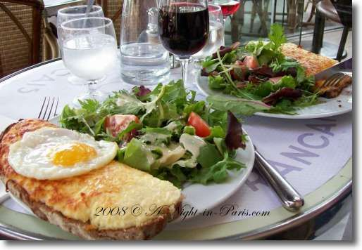 french food in france | Finding a more traditional French food Croque Monsieur is difficult ...
