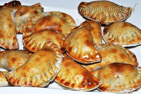 Pierogi ruskie pieczone / Baked Russian dumplings