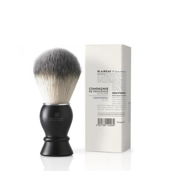 Compagnie De Provence Shaving Brush: This shaving brush from the Grooming for Men range from French label Compagnie de Provence Skincare is the best ally for a daily shaving for all skin types. Only the finest fibers are selected for its creation. Soft and compact, it aids flawless shaving.