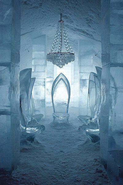 ~~Main hall in ICEHOTEL Jukkasjärvi, Sweden by Laplandish~~