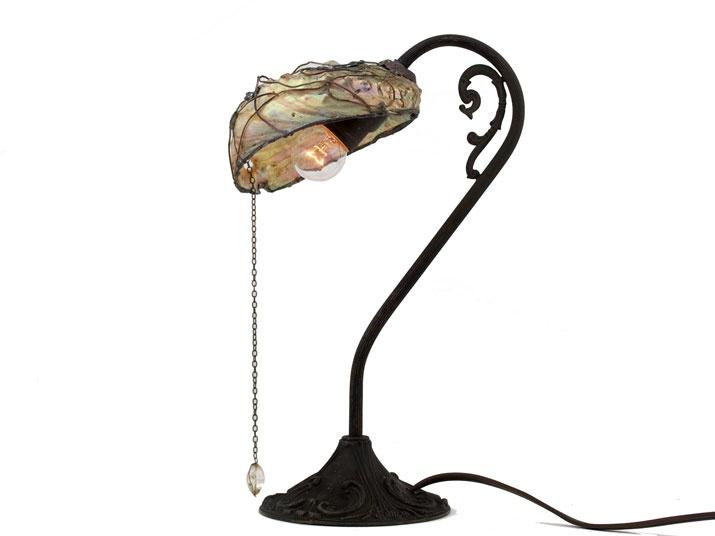 Shell lamp  gothic art  http://heavenscafe.net/?mode=grp=176750
