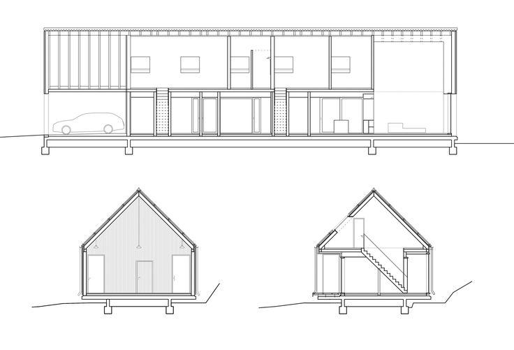 Schwebende Scheune - Einfamilienhaus im Saarland