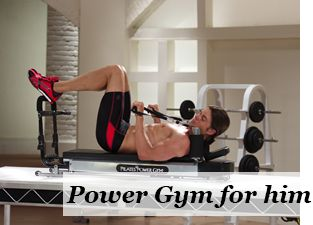 Official Pilates Power Gym PRO Shop - The Ultimate In-Home Mini Pilates Reformer!