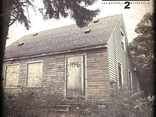 'I felt like a kid'  The 41-year-old, who was born Marshall Bruce Mathers III, said that one of the reasons he named his new record after The Marshall Mathers LP was that there were some things early in the recording process that reminded him and others of his earlier days.