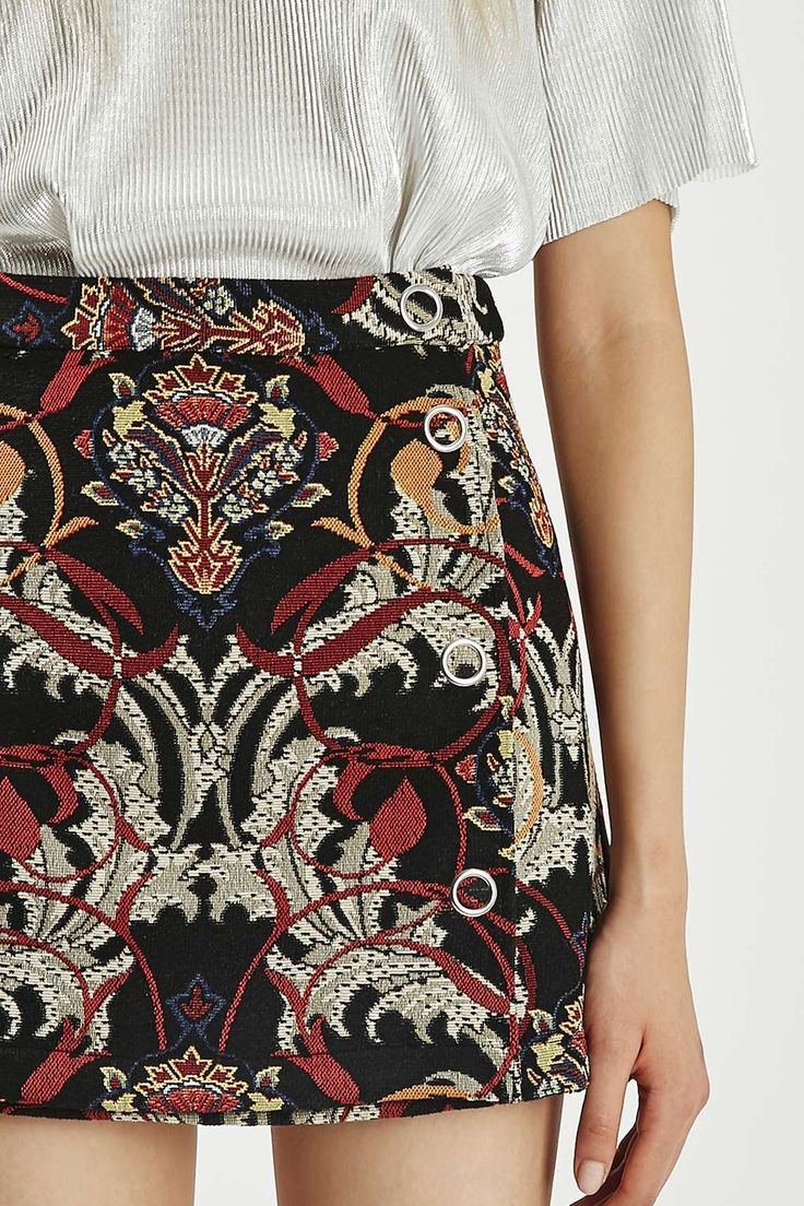 TALL Rambler Jacquard Skirt