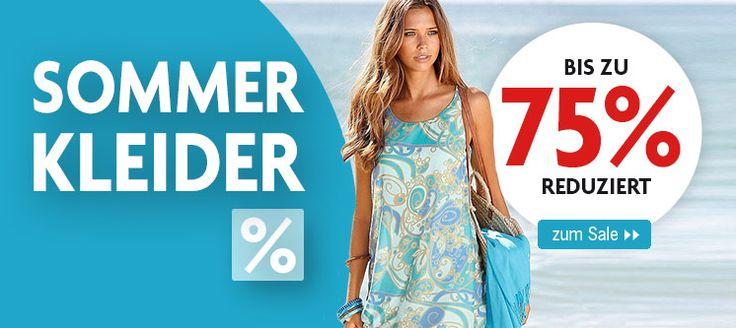 Bis zu 75% reduziert! Bestellt #Sommerkleider #günstig und bequem und freut Euch auf die kommende Zeit!